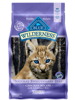 Blue Buffalo Wilderness Kitten Chicken Recipe Dry Cat Food