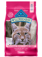 Blue Buffalo Wilderness Salmon Recipe Dry Cat Food