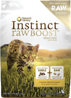 Nature's Variety Instinct Raw Boost Grain-Free Chicken Meal Formula Dry Cat Food