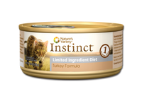 Instinct Turkey Limited Ingredient Canned Cat Food 5.5oz