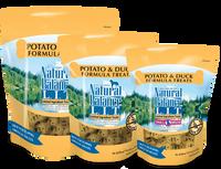 Natural Balance L.I.T. Limited Ingredient Treats® Biscuits Potato & Duck Formula
