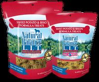 Natural Balance L.I.T. Limited Ingredient Treats® Biscuits Sweet Potato & Bison Formula