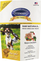 Stewart Pro-Treat Raw Naturals Real Chicken with Berries & Flaxseed Freeze-Dried Dog Treats, 4-oz bag