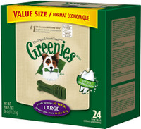 Greenies ORIGINAL DENTAL CHEWS Large