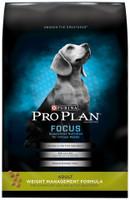 Purina  Focus Adult Weight Management Formula Dry Dog Food