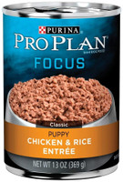 Purina Pro Plan  Focus Classic Puppy Chicken and Rice 13-oz Canned Dog Food