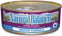 Natural Balanace Ultra Premium Indoor Canned Cat Formula Canned Cat Food 6oz