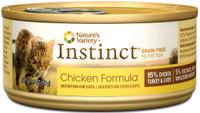 Nature's Variety Instinct Grain-Free Venison Formula Canned Cat Food, 5.5-oz