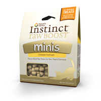Nature's Variety Instinct Raw Freez Dried Chicken Minis Dry Cat Food