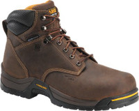 "Carolina Men's 6"" Waterproof 400G Insulated Broad Toe Work Boots - Brown"