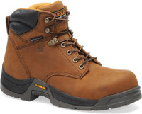 "Carolina Men's 6"" Waterproof Broad Toe Work Boots - Brown"
