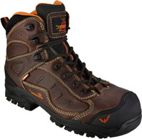 "Thorogood Men's 6"" Composite Toe Waterproof Work Boot - Brown"
