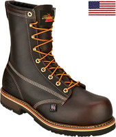 "Thorogood Men's 8"" Emperor Composite Toe Work Boots - Brown"