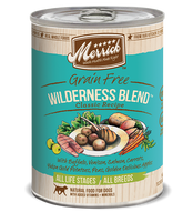 Merrick Wilderness Blend Grain Free Canned Dog Food