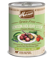 Merrick Venison Holiday Stew Grain Free Canned Dog Food