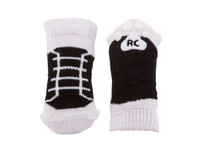 RC Pets Pawks Black Sneakers Dog Socks