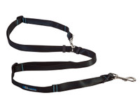 RC pet Canine Equipment Technika Beyond Control Leash - Black