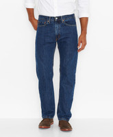 Levis 505 Rinse Regular Fit Jeans  - Dark Wash