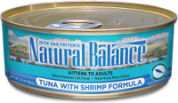 Natural Balance Ultra Premium Tuna with Shrimp Canned Cat Formula - 5.5oz