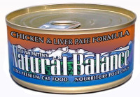 Natural Balance Ultra Premium Chicken & Liver Pate Canned Cat Formula - 5.5oz