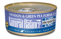 Natural Balance L.I.D. Limited Ingredient Diets® Venison & Green Pea Canned Cat Formula - 5.5oz