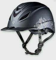 Troxel Helmet Intrepid Allure Graphic - Black