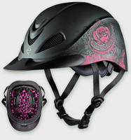 Troxel Rebel Helmet - Pink Rose