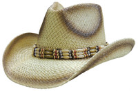 Dallas Hat Outback 11 Straw Hat - TAN