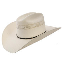 Men's Stetson White Horse Straw Hat