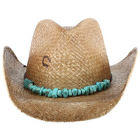 Charlie-1-Horse Women's Tulum Straw Cowgirl Hat