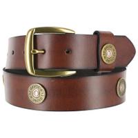 Nocona Men's 12 gauge Shotgun Belt - Brown