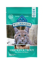 Blue Wilderness Chicken & Trout  Cat Treat