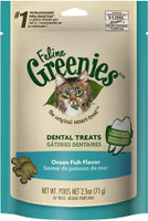 Greenies Ocean Fish Cat Treat 2.5oz