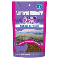 Natural Balance Perfect Bite Rabbit Cat Treat 3oz