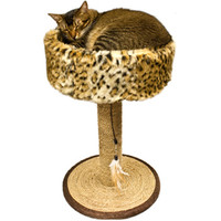 Catware Wildcat Scratch-N-Sleep Seagrass Scratcher