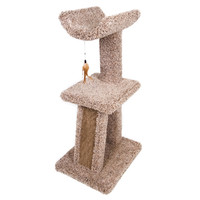 Kitty Cradle Tower with Corrugated Scratch Post