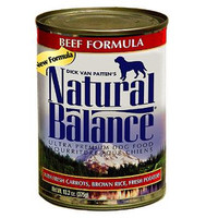 Natural Balance Beef Formula Canned Dog Food 13oz