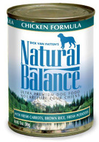 Natural Balance Chicken Formula Canned Dog Food 13oz