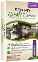 Sentry Natural Defense Flea & Tick Squeeze-On-Cat & Kittens