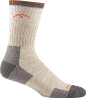 Darn Tough Men's Hiker Micro Crew Cushion Socks - Oatmeal