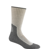 Wigwam Men's At Work DuraSole Pro 2 Pack Sock - White/Grey