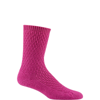 Wigwam Women's So Soft Sock - Fuchsia
