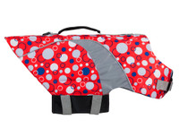 Canine Lifejacket Soda Pop Red