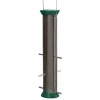 New Generation 15″ Forest Green Nyjer Seed Feeder
