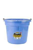 Flat Back Plastic Bucket Blueberry