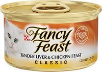 Fancy Feast Classic Liver & Chicken 3oz Canned Cat Food