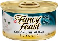 Fancy Feast Classic Salmon & Shrimp 3oz Canned Cat Food