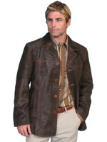 Scully Oak Ranch Parka Men's Coat - Brown