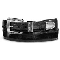 Brighton Men's Alpine Croco Taper Belt