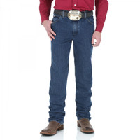 Wrangler Premium Performance Advanced Comfort Cowboy Cut  Slim Fit Mid Stone
